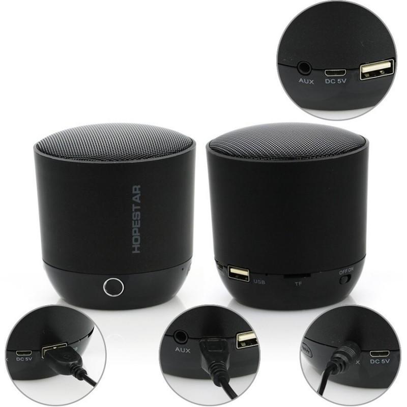 اسپیکر بلوتوثی قابل حمل هاپ استار مدل H9