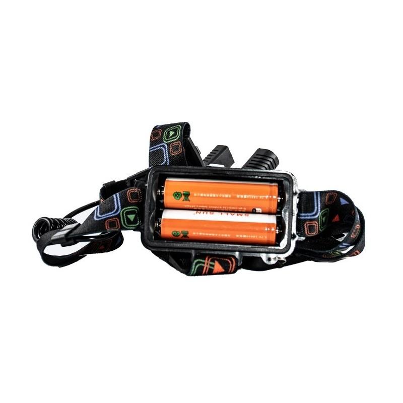 باتری های چراغ قوه پیشانی سه لامپ