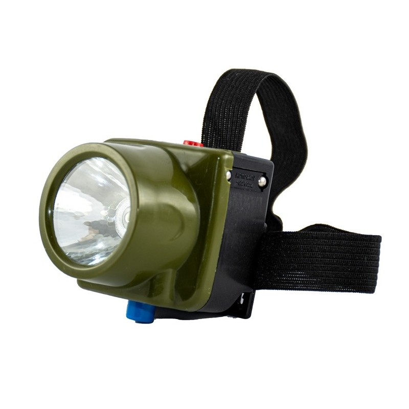 چراغ پیشانی نور قوی تک لامپ