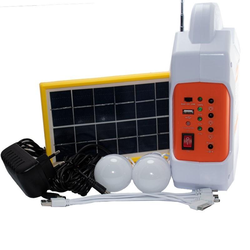 سیستم خورشیدی قابل شارژ