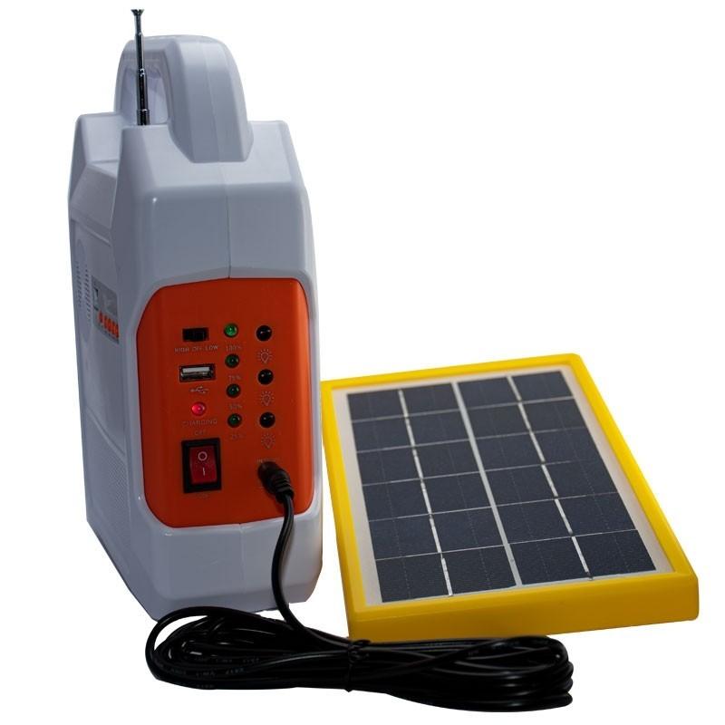 سیستم روشنایی خورشیدی چند کاره