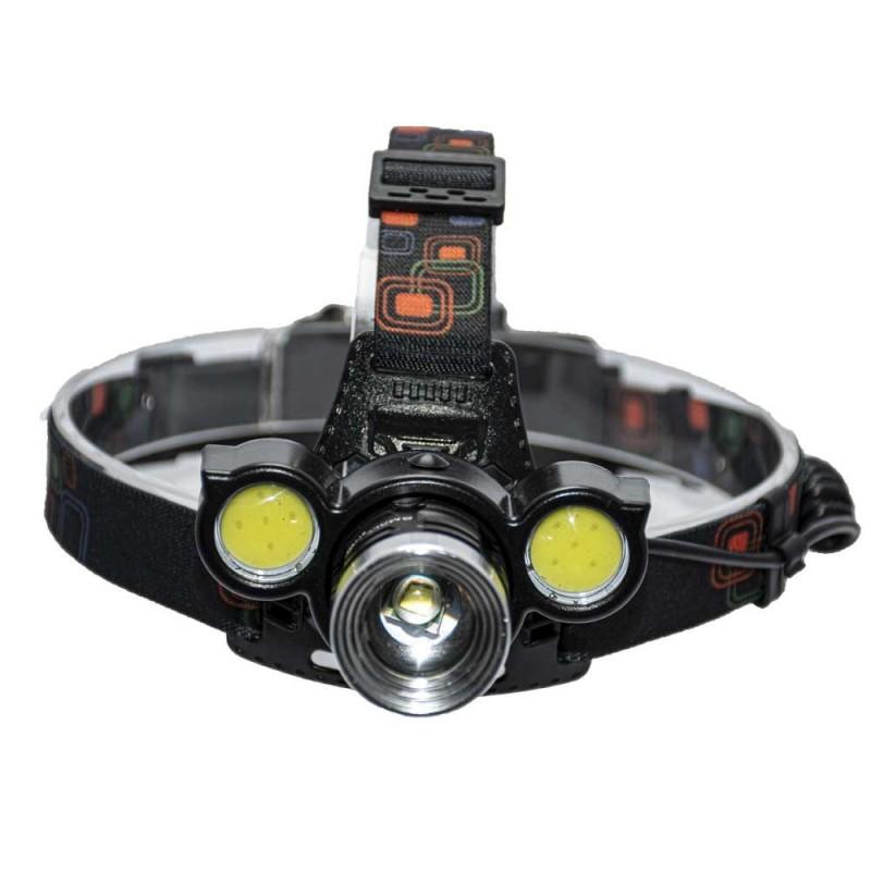 چراغ پیشانی سه لامپ اسمال سان مدل ZY-F692T