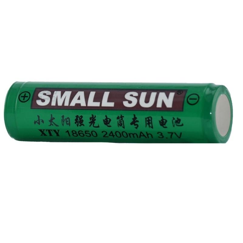 باتری لیتیومی اسمال سان سبز مدل - 18650