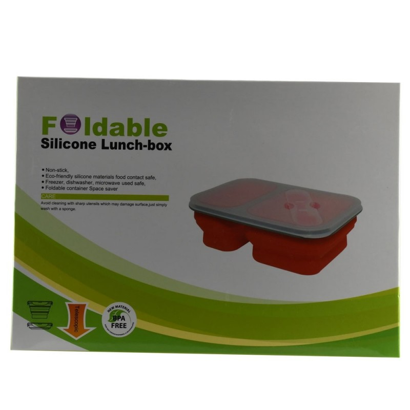 ظرف غذای سیلیکونی Foldable