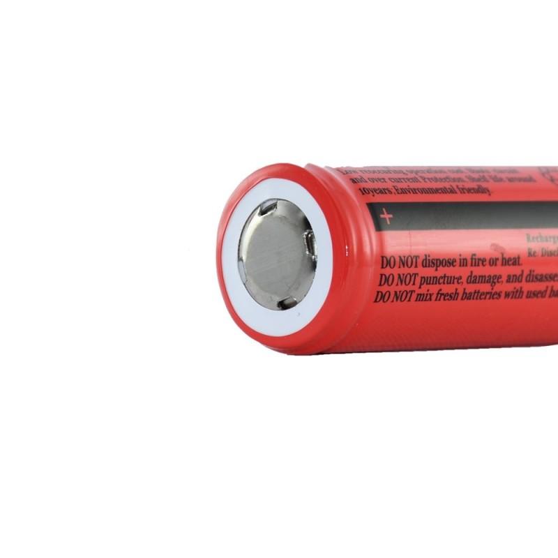 باتری لیتیومی الترافایر قرمز مدل - 26650
