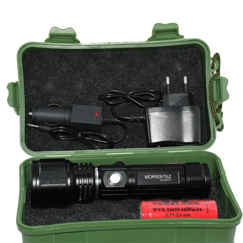 چراغ قوه Morientez مدل T6-W171