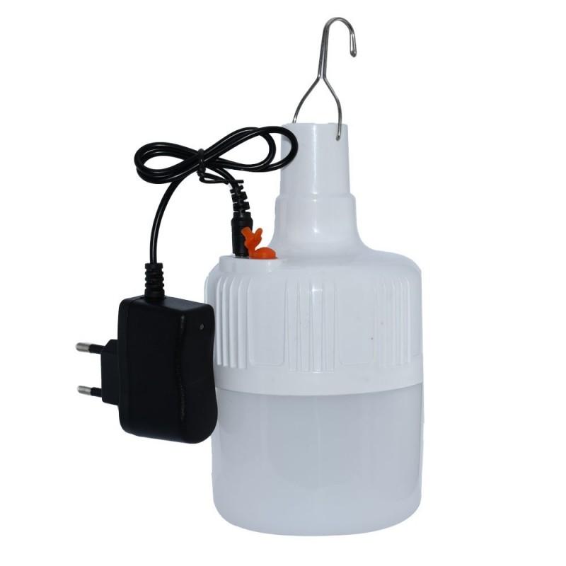 لامپ شارژی مسافرتی  12 وات LED