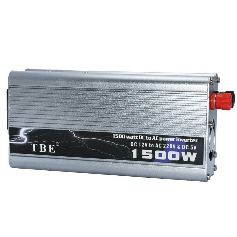 اینورتر (مبدل برق ) خودرو 1500 وات مدل TBE