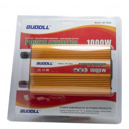 اینورتر خودرو 1000 وات BUDDLL مدل BP-1000A
