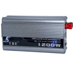 اینورتر (مبدل برق ) خودرو 1200 وات مدل TBE