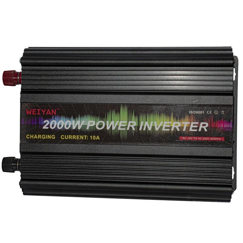 اینورتر سینوسی (مبدل برق ) خودرو 2000 وات مدل WEIYAN
