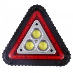 چراغ خطر مثلثی شارژی چندکاره مدل W842
