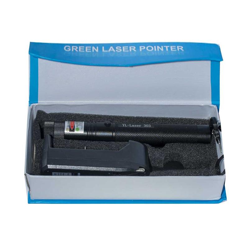 چراغ قوه لیزری پوینتر مدل YL-LASER 303