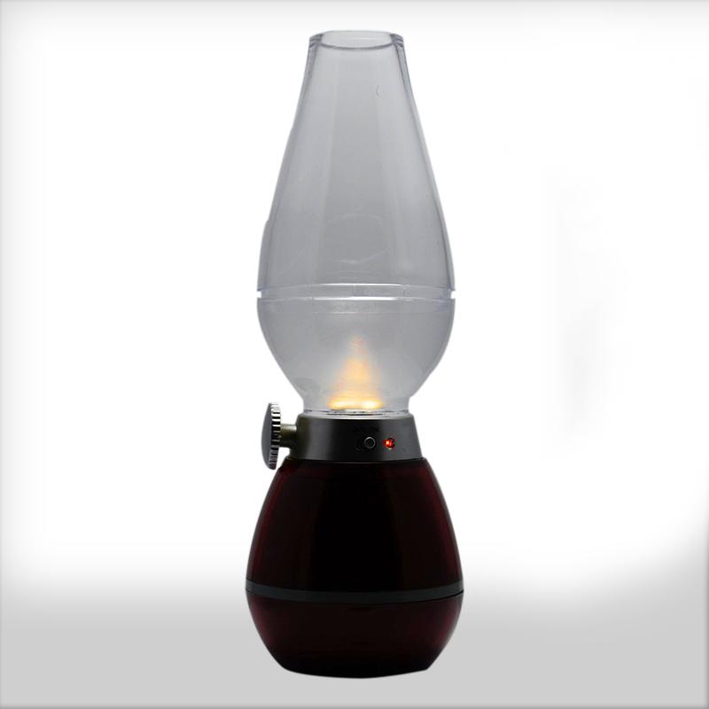 چراغ شارژی فوتی طرح فانوس Retro Lamps