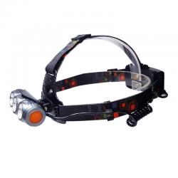چراغ پیشانی سه لامپ اسمال سان مدل ZY-BT002