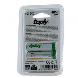 باتری قلمی AA معمولی Toply دو عددی