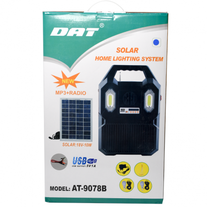 سیستم روشنایی خورشیدی چند کاره AT-9078B