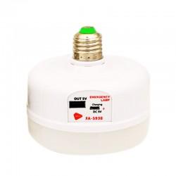لامپ شارژی خورشیدی 30 وات FA-5930