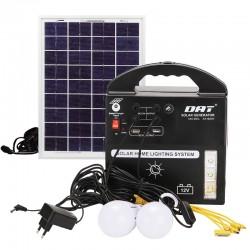 سیستم روشنایی خورشیدی چند کاره AT-8207