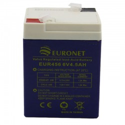 قیمت باتری 6 ولت 4.5 آمپر EURONET