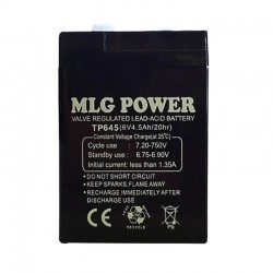 قیمت باتری شارژی 6 ولت 4.5 آمپر MLG POWER