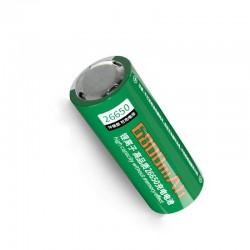 باتری لیتیومی 26650 اسمال سان 6800 آی سی دار