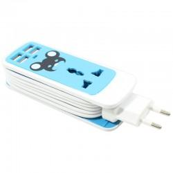 قیمت سه راهی و شارژر USB پنج کاره