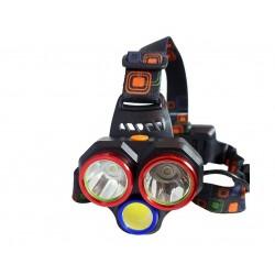 چراغ پیشانی 3 لامپ اسمال سان مدل ZY-H82
