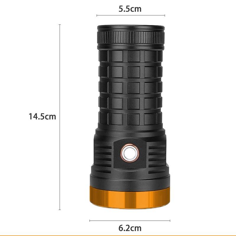 ابعاد چراغ قوه پلیسی اسمال سان T179