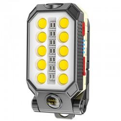 چراغ شارژی LED آهنربایی W599B