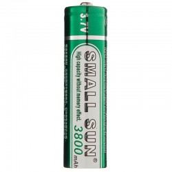 قیمت باتری لیتیومی 18650 اسمال سان 3800 میلی آمپر