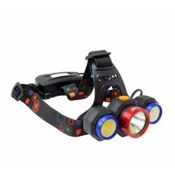 چراغ پیشانی 3 لامپ اسمال سان مدل ZY-H82-1