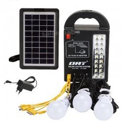 خرید سیستم روشنایی خورشیدی چند کاره AT-999