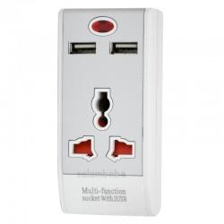 سه راهی و شارژر USB مدل 326L
