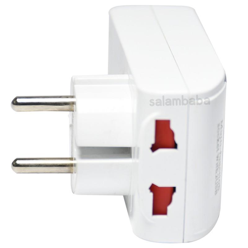 قیمت سه راهی و شارژر USB مدل 326L