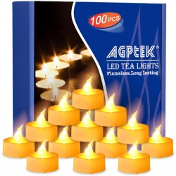 شمع تزئینی ال ای دی(پک 12 عددی)