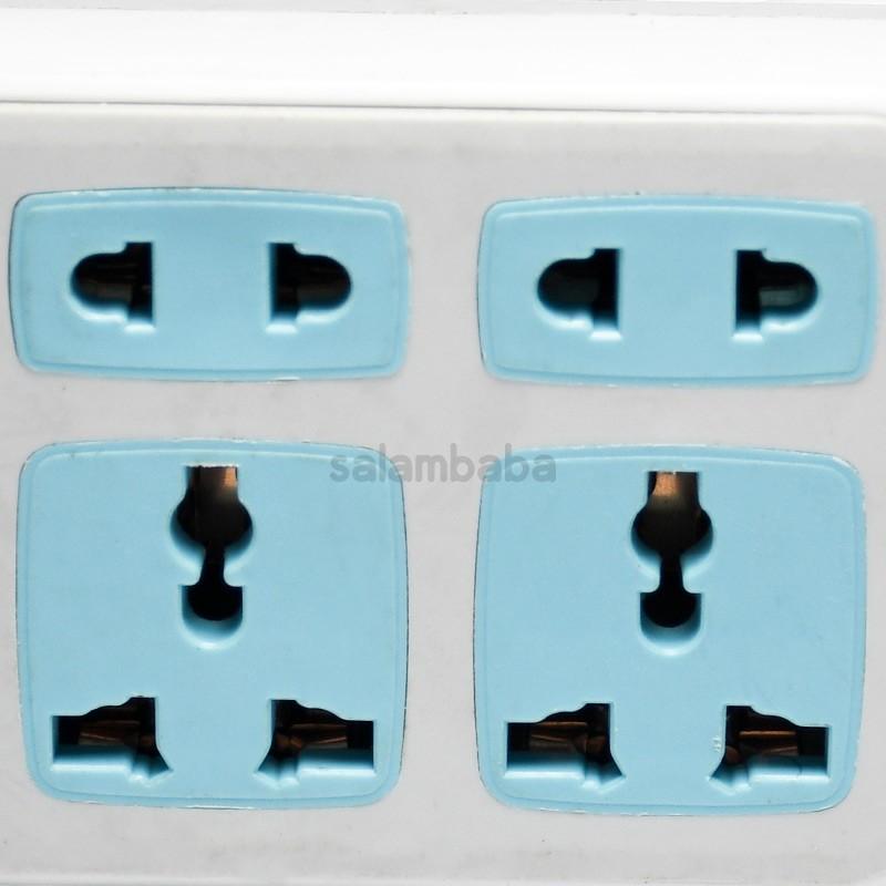 قیمت چند راهی و شارژر USB مدل HS-A016