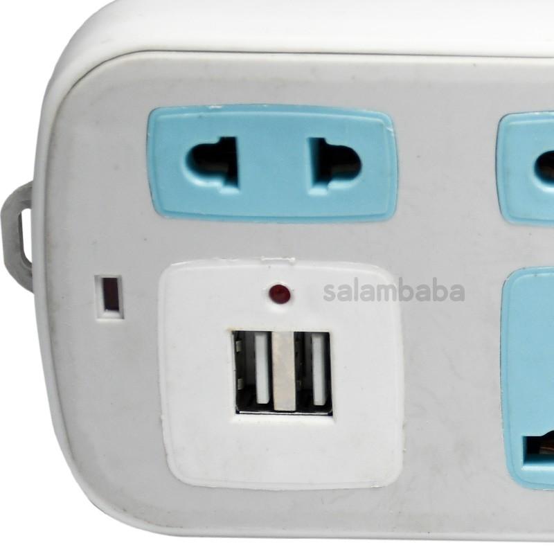 چند راهی و شارژر USB مدل HS-A016